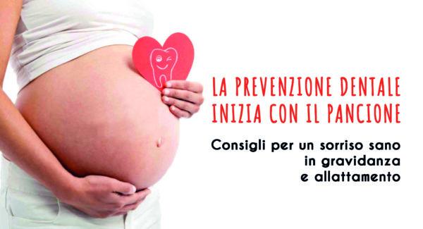 Guida dentale in gravidanza e allattamento