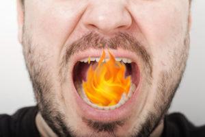 bocca urente