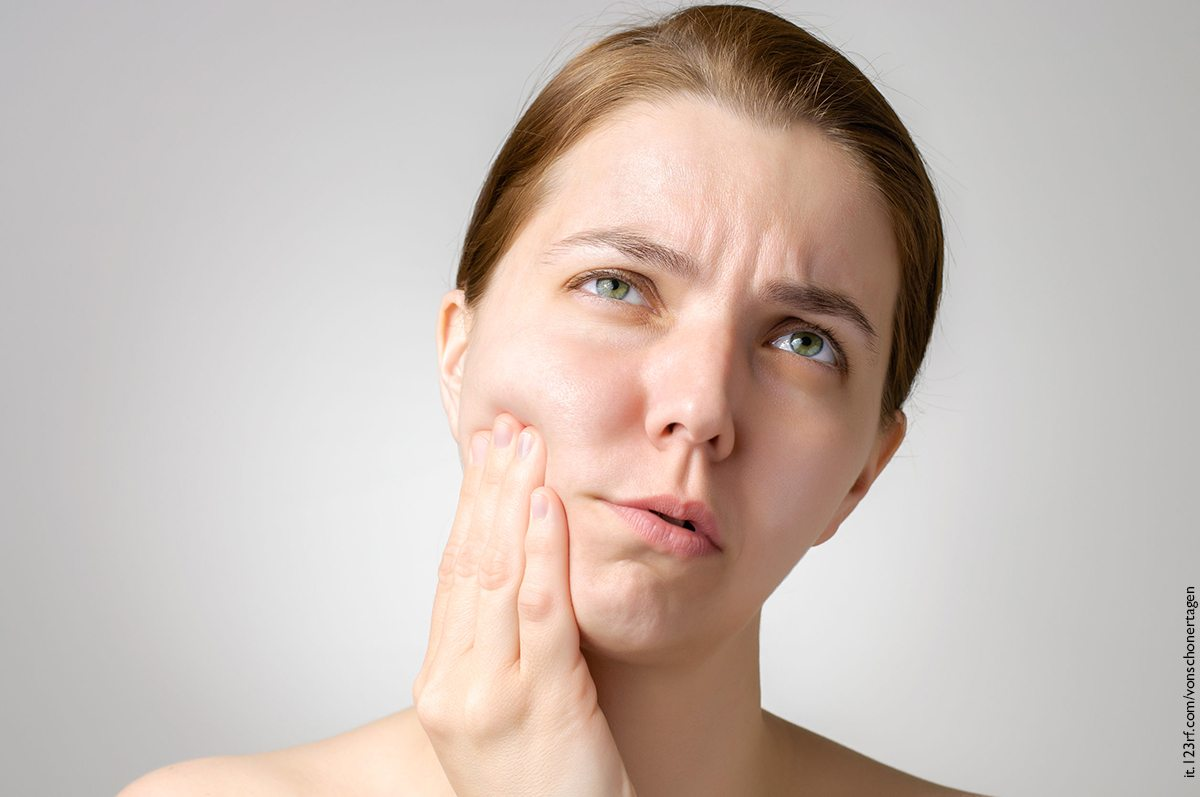male a un dente, Tooth devitalisation, devitalizzazione
