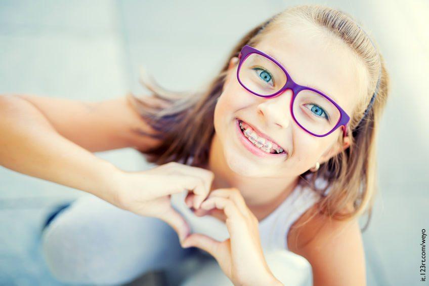fastidio apparecchio ortodontico
