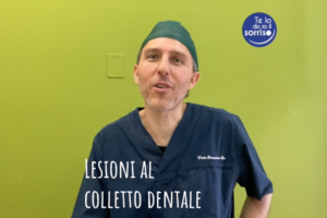 lesione al colletto dentale di origine non cariosa