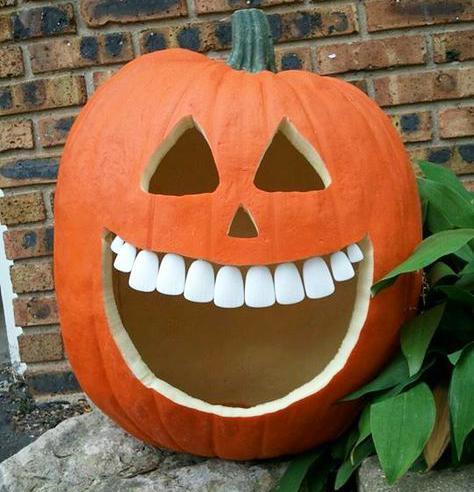 Halloween consigli per i denti